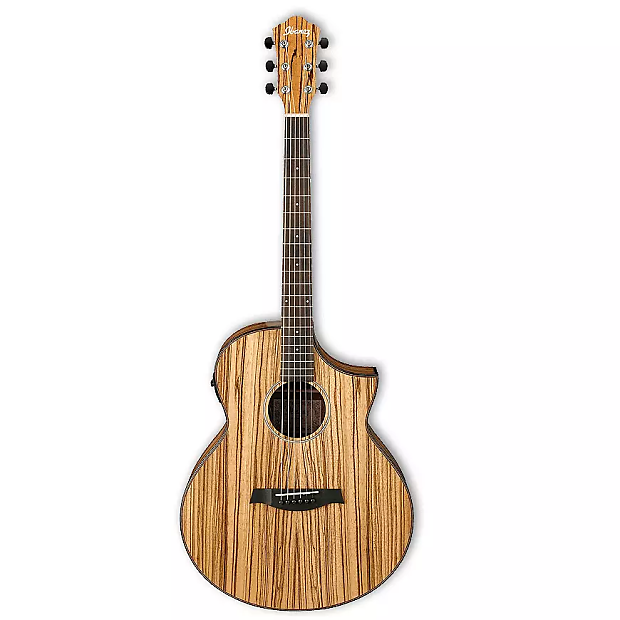 Ibanez Aew40zwnt Exotic Wood Series Acoustic Electric Guitar