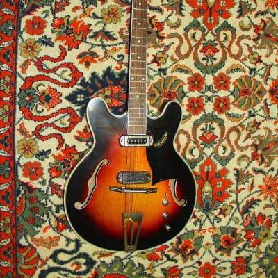 Musima 1657 1960s Sunburst for sale