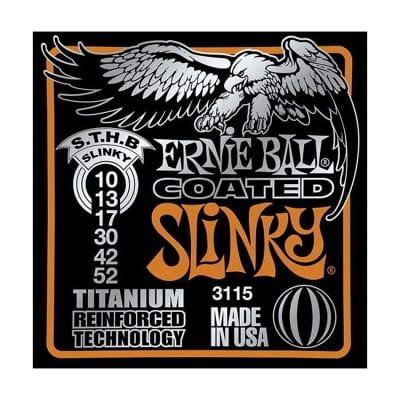 ERNIE BALL Coated Titanium RPS  Slinky Electric Guitar Strings(3115)