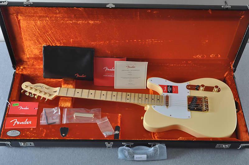 Fender American Professional Telecaster - Limited Edition - Vintage White - Gold Hardware image