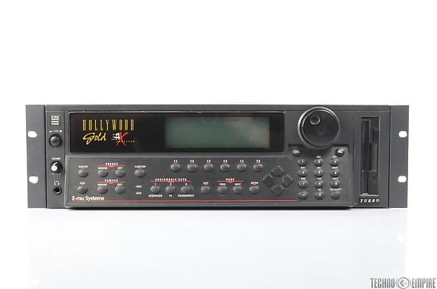 E-MU E4X Emulator Turbo Hollywood Gold Sampler 6806 Rack Andrew Gold #26715