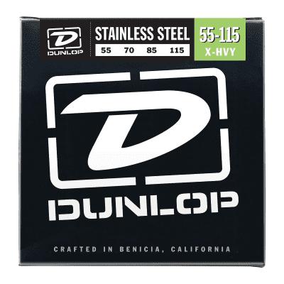 Dunlop DBS55115 Stainless Steel Bass Strings (55-115)