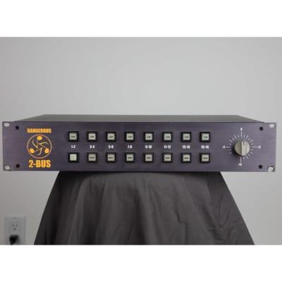 dangerous music 2 bus 16 channel analog summing box 2001 reverb. Black Bedroom Furniture Sets. Home Design Ideas