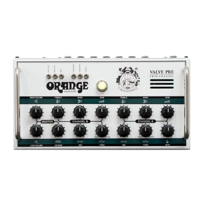 Orange Acoustic Pre Twin Channel Stereo Valve Acoustic Preamp