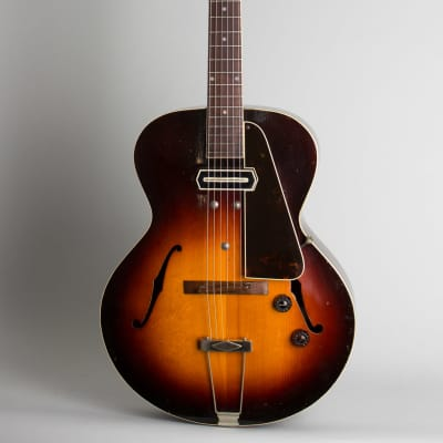 Gibson  ES-150 Arch Top Hollow Body Electric Guitar (1939), ser. #EGE-3292, black hard shell case. for sale