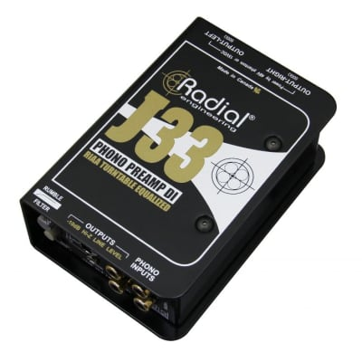 Radial J33 | Active Turntable Preamp & DI Box