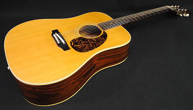 Gibson Blue Ridge Acoustic Guitar Vintage 1968 Brazilian