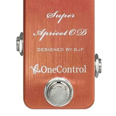 One Control Super Apricot Overdrive
