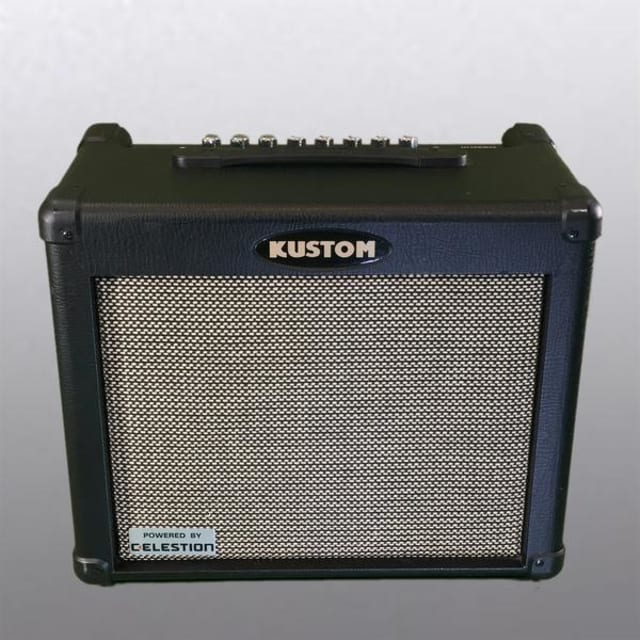 "Kustom Dual 30RC 30W 1x10"" 2-Channel Guitar Combo Amplifier USED image"