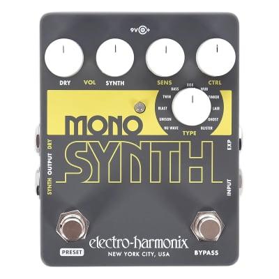 Electro Harmonix Guitar Mono Synth-Open Box for sale