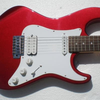 Dean Playmate Avalanche 09 Metallic Red Electric Guitar for sale