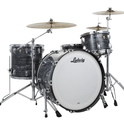 Ludwig Legacy Maple Vintage Black Oyster Pro Beat 14x24_9x13_16x16 Special Order | Authorized Dealer
