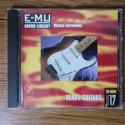 E-MU Systems Sound Library Vol. 17 Heavy Guitars Sample CD-ROM