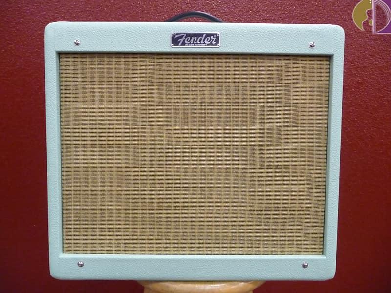 Fender Blues Junior IV Surf Green,  Guitar Combo Amp image