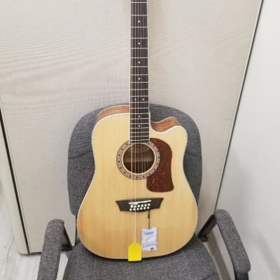 Washburn Heritage D10S 12-String Acoustic Electric 2020 Natural for sale