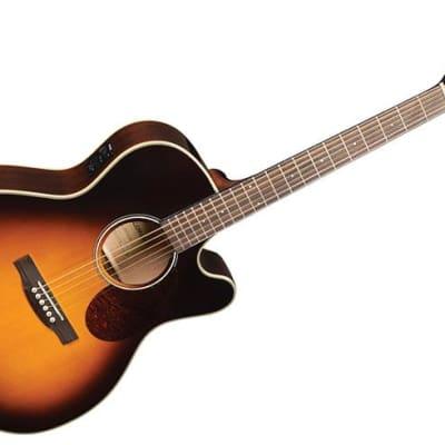 Jasmine JO37CE-SB J-Series Acoustic-Electric Guitar - Sunburst image