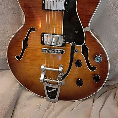 Heritage Heritage 576 with Bigsby 2002 Amber Burst GIBSON FACTORY for sale