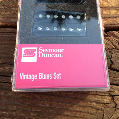 Seymour Duncan Vintage Blues Humbucker Pickup Set SH-1 59 Model Neck and Bridge image