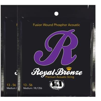 S.I.T. Strings RL1356 Royal Bronze Acoustic String - 2 PACK