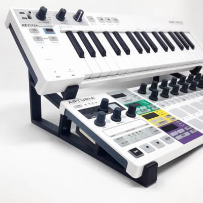 3DWaves Dual Tier Stands For The Arturia Keystep And Beatstep Pro