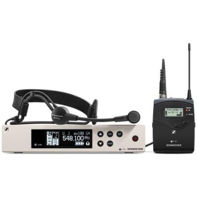 Sennheiser EW 100 G4-ME3 Wireless Cardioid Headset Microphone System (A-Band: 516-558 MHz)