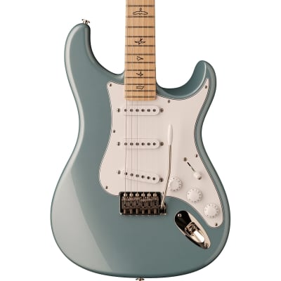 PRS Paul Reed Smith John Mayer Silver Sky Electric Guitar, Maple Fretboard, Polar Blue w/ PRS Bag