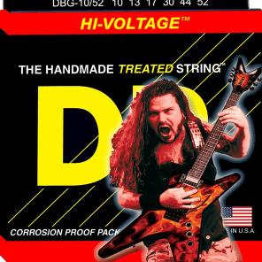 DR DBG-1052 Dimebag Darrell Signature Nickel-Plated Electric Guitar Strings - Medium/Heavy (10-52)