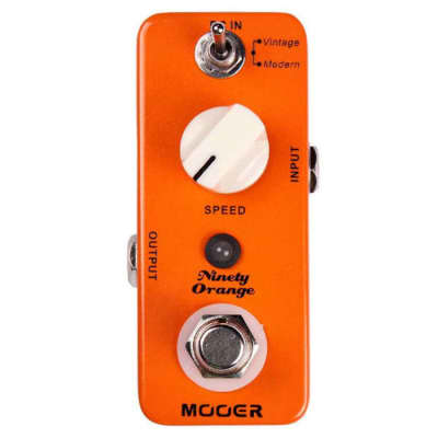 Mooer Ninety Orange Vintage Phaser Effect Pedal