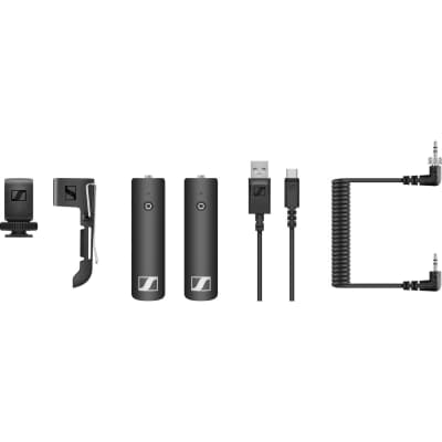 Sennheiser XSW-D PORTABLE BASE SET Camera-Mount Digital Wireless Bodypack Microphone System (2.4 GHz)