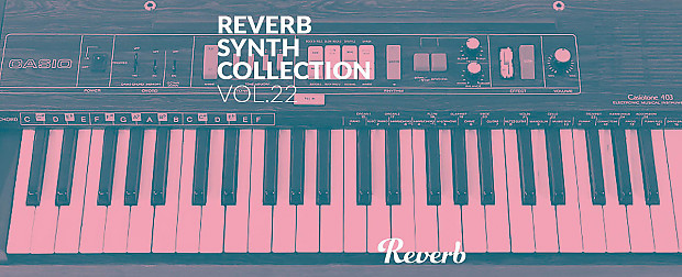 Reverb Casio Casiotone 403 Synth Collection Sample Pack by John Marston