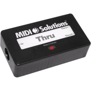 MIDI Solutions MSL THRU 2 Output Active MIDI Thru Box