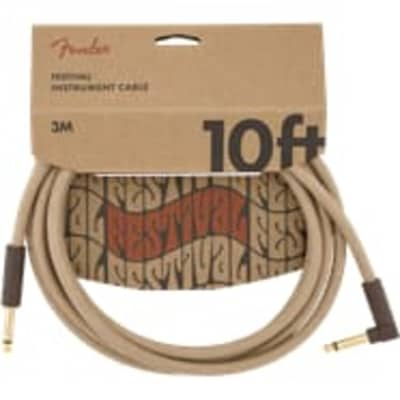 Fender 0990910021 10' Hemp Natural Inst Cable