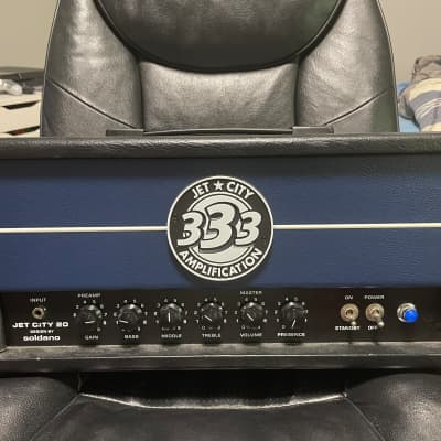 Jet City 333 20 watt tube head with matching 1x12 cabinet for sale