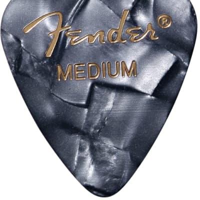 Fender Black Moto (12Pk) Medium Guitar Picks for sale