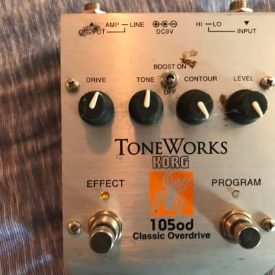 Korg Toneworks distortion pedal. You can save teo presets Late 90's for sale