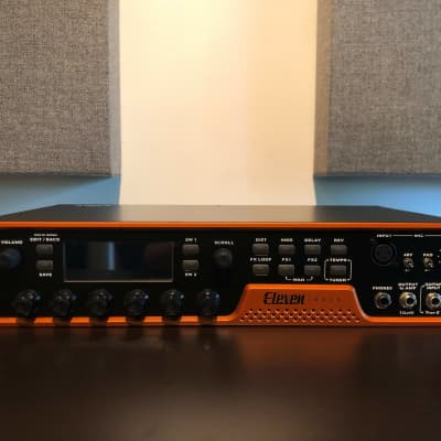 Avid Eleven Rack Guitar Multi-Effects Processor and Pro Tools Interface