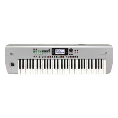 Korg i3SV 61-Key Music Workstation - Silver