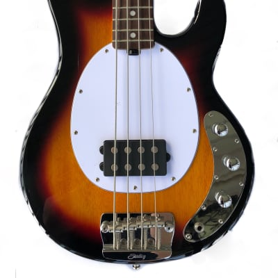 2018 Sterling by Music Man StingRay Ray24, 3-Color Sunburst for sale