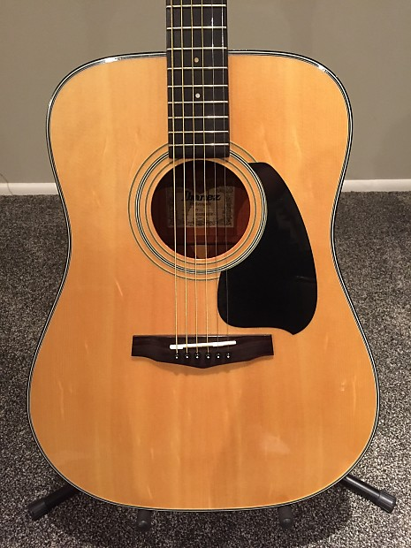 beautiful ibanez pf10 acoustic guitar case new strings reverb. Black Bedroom Furniture Sets. Home Design Ideas