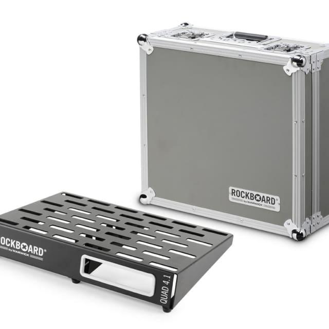 Rockboard RBO B 4.1 Quad C Effects Pedal Board with Flight Case image
