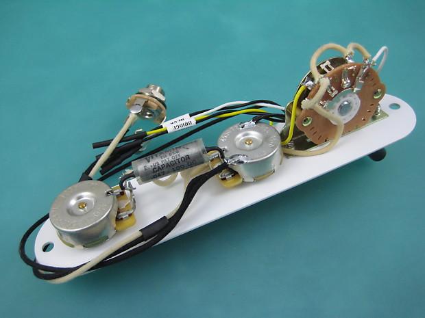 Telecaster Wiring Harness 3Way Vintage Vitamin Q Paper/Foil | Reverb
