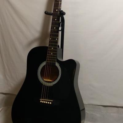 Squier SA-105CE BK Negro for sale