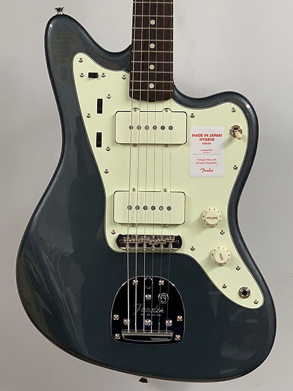 Fender Made in Japan Hybrid 60s Jazzmaster SN:**3099 2019 Charcoal Frost  Metallic