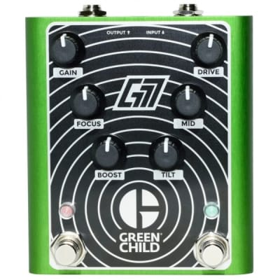 NEW! Greenchild G777 Distortion FREE SHIPPING!