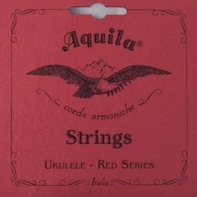 Aquila Red Soprano Low G Ukulele Set 84U