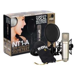 RODE NT1-A Anniversary Studio Mic Pack