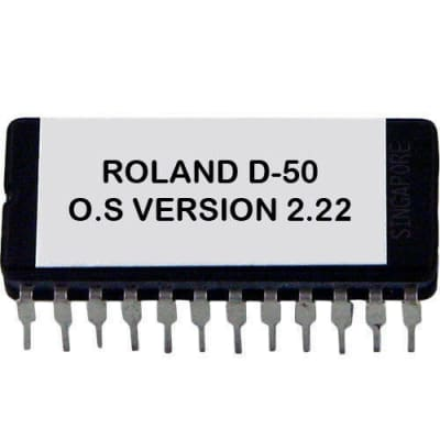 ROLAND D-50 OS FIRMWARE UPDATE UPGRADE 2.22( latest version ) D50 Eprom