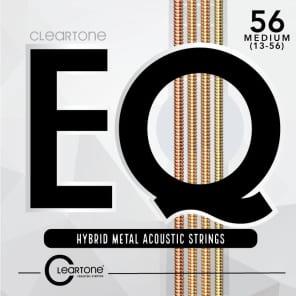 Cleartone 7813 EQ Hybrid Metal Acoustic Guitar Strings - Medium (13-56)