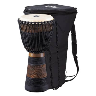 "Meinl ADJ3-L+BAG Earth Rhythm Series African-Style Rope-Tuned 12"" Djembe with Bag"