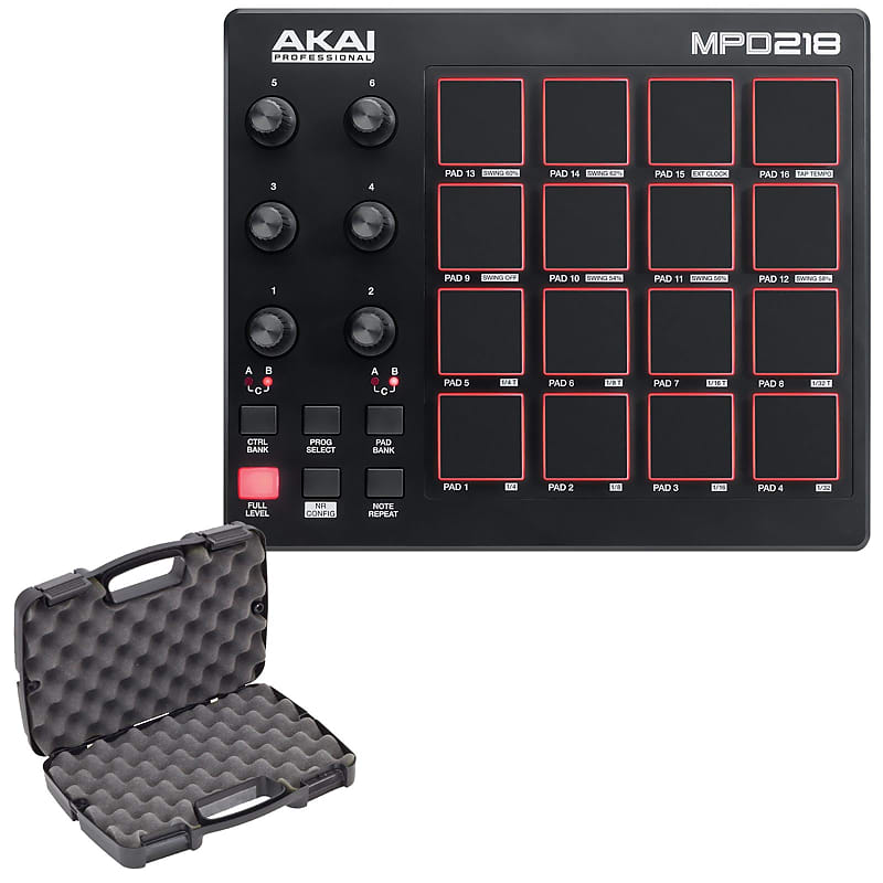 Akai Professional MPD218 MIDI USB Drum Beat Pad Controller